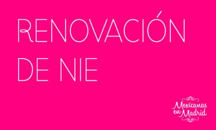RENOVACIÓN DE NIE