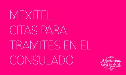 CITAS PARA TRÁMITES EN EL CONSULADO MEXITEL