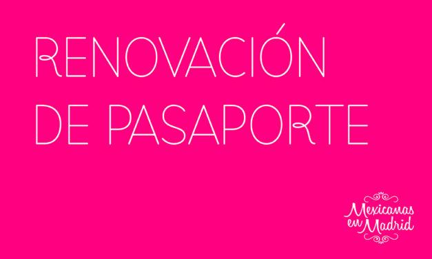 Renovación de Pasaporte