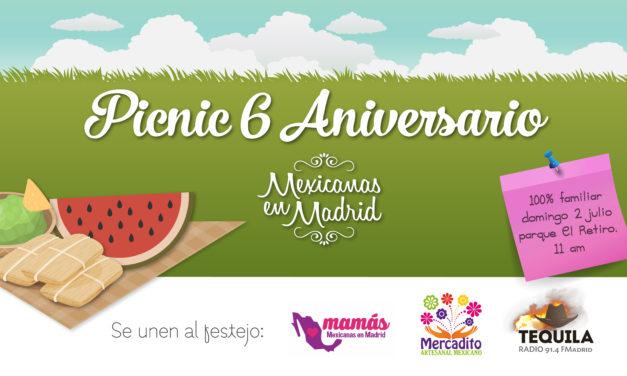 Picnic 6 Aniversario Mexicanas en Madrid