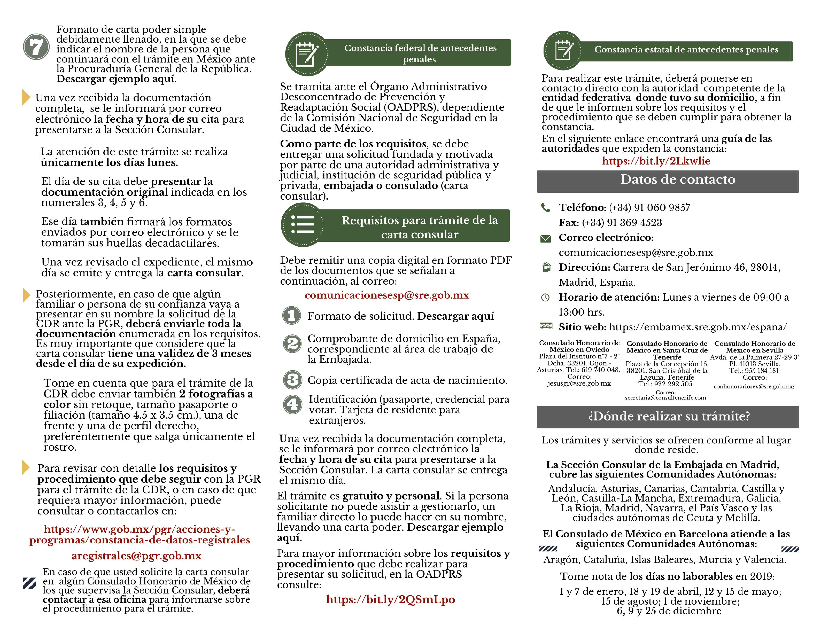 Carta Consular 05feb19 2 02 Mexicanas En España